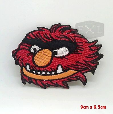 The Muppets Animal Cartoon Embroidered Iron On Applique Patch