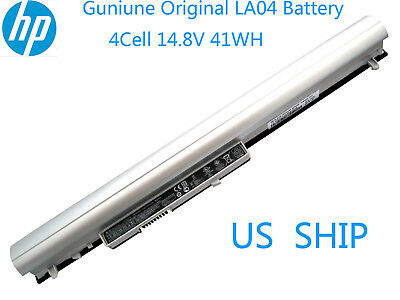 New Genuine La04 Battery for HP Pavilion 14 15 TouchSmart 728460-001 776622-001