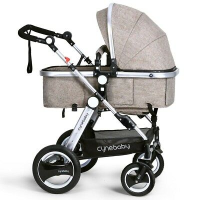 Cynebaby Lightweight Baby Stroller Foldable Stroller Toddler Seat Baby Carriage