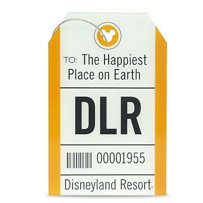 Disney Parks Disneyland Resort DLR Luggage Tag TAG Collection Travel and Gear