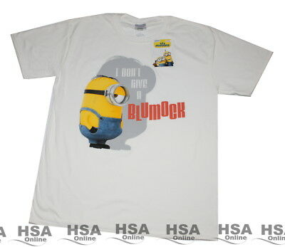 Mens Minions Despicable Me Tshirt Size S,M,L,XL Birthday,Novelty Gift NEW