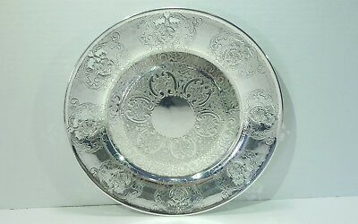 Vintage Viking Plate EP Silevr Plated Over Copper Made in Canada