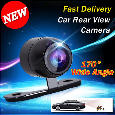 170° Wide View Angle Car Butterfly Back Camera Waterproof Auto Rear View Camera