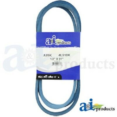 "A89K A-Section Made With Kevlar  (Blue) V Belt - 1/2"" X 91"""