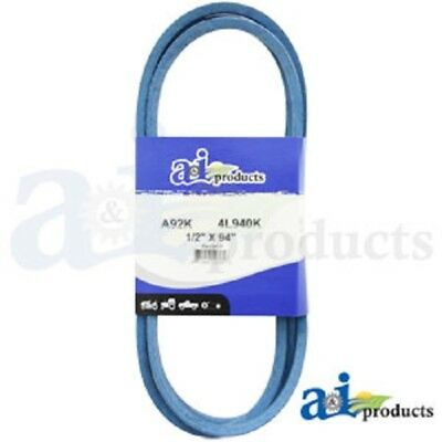 "A92K A-Section Made With Kevlar  (Blue) V Belt - 1/2"" X 94"""