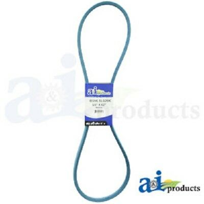 "B59K B-Section Made With Kevlar  (Blue) V Belt - 5/8"" X 62"""