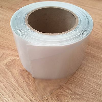 Helicopter Bike Frame Protection Tape Clear Gloss Finish +Free Cable Rub Patches