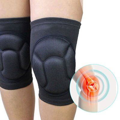 Pair Protective Knee Pads Thick Sponge High Elastic Collision Avoidance Kneepad