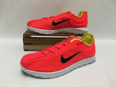 Nike Mayfly Lite SE Running Shoes Crimson Black White 876188-600 Men s NEW 80a2406fad66