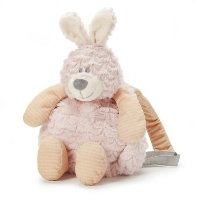 Backpack Pals Demdaco Belina Bunny Backpack Nat & Jules Comfort of Plush