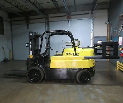 Hyster S150A 15,000 lbs Capacity Forklift w Retractable Hydraulic Counter Weight