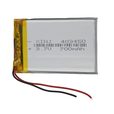 3.7V 700 mAh 403450 Polymer Li Lithium cells For GPS Mp4 Mp3 Camera Tablet PC