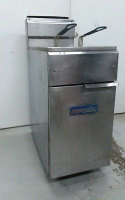 Imperial commercial gas fryer