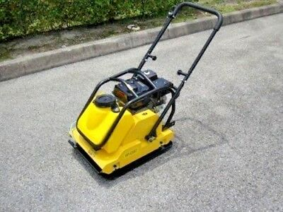 Plate Compactor 6.5 Hp With Tank Hpc95