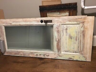 Antique Victorian Style Entry Door - C. 1890 To early 1900 Architectural Salvage