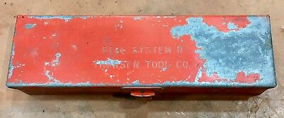 Vintage Bell System D - Metal Tool Box - Thorsen Tool Co