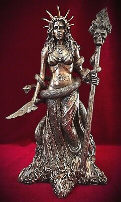 Hecate Statue-Greek Mythology Wiccan Pagan Goddess of Witchcraft Magic Snake