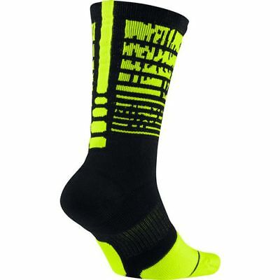 cheaper 43352 30e82 Nike ELITE PULSE 1.5 CUSHIONED CREW Basketball Socks SX7009-013 Size L (8-