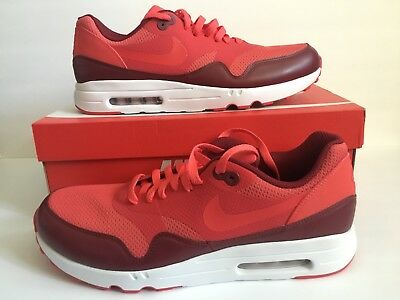 MENS NIKE AIR MAX 1 ULTRA 2.0 ESSENTIAL SHOES SIZE 11 TRACK RED AIR MAX