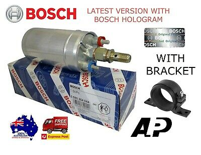 Genuine Bosch 044 Racing External Fuel Pump E85 Universal With Bracket