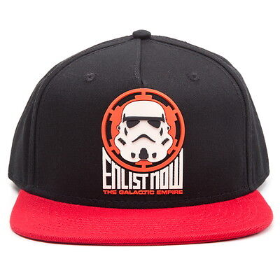 OFFICIAL Star Wars Galactic Empire Enlist Now Baseball Cap Snapback Hat (NEW)