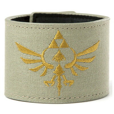 NEW OFFICIAL Nintendo Legend of Zelda Skyward Sword Triforce Boys Mens Wristband