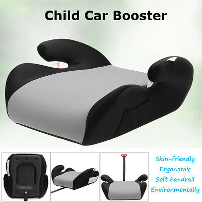 Gray Safe Sturdy Baby Kid Children Car Booster Seat Pad For 6-12 Year 22-36kg AU