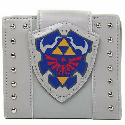 NEW OFFICIAL Nintendo Legend of Zelda Hylian Shield Classic Retro Wallet