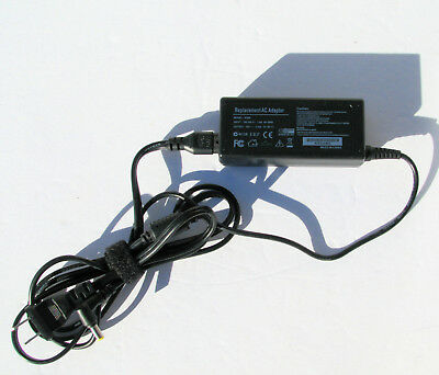 19V Replacement AC Adapter for Laptops 65W 100-240V Input 1.6A 50-60Hz