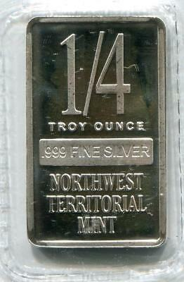 .999 1/4oz Silver Bar   Northwest Territorial Mint   Buy It Now (RC5258)