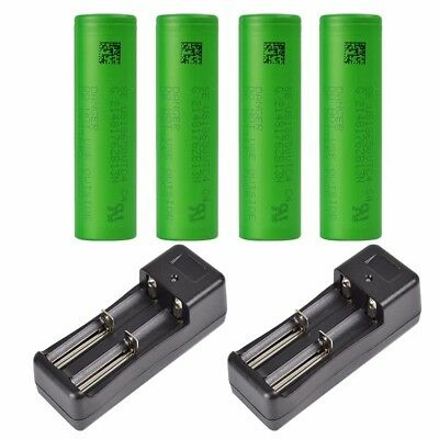 SONY US18650VTC5 2600mAh 30A Rechargeable Li-ion Battery and free Charger