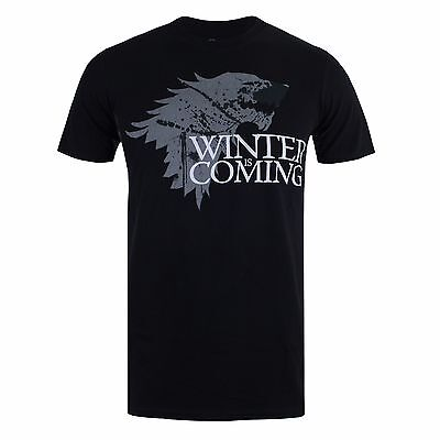 Official Mens Game Of Thrones - WINTER - TShirt  - S,M,L,XL,2XL TEE