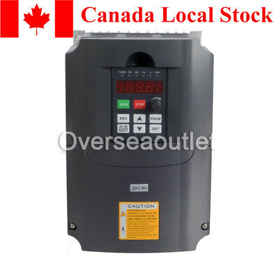 5.5KW 220V Variable Frequency Drive Inverter VFD 7.6HP 25A