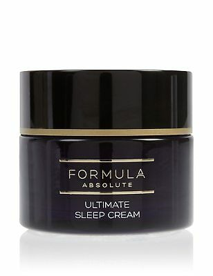 BRAND NEW BOXED M&S Formula Absolute Ultimate Sleep Cream 50ml RRP £22
