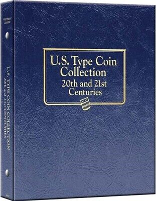 US Type Coin Collection 20th & 21st Centuries Album Whitman Classic 3688 New