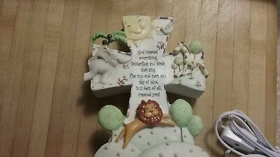 God Created Everything Nite Lite light  by Roman brand new in box