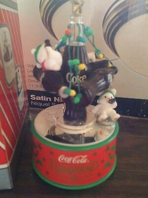 New! COCA COLA MINI ACTION MUSICAL / HIGH FLYIN' HOLIDAY FUN #279897.by Enescoh