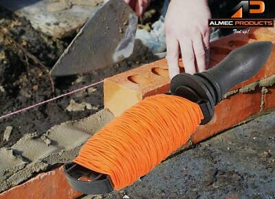 100M Builders String Line & Winder Construction Brick Laying Tool Chalk