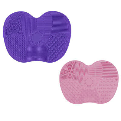 1 Pcs Silicone Maquillage Brosse Cleaner Pad Laveur Conseil Mat Nettoyage Outils