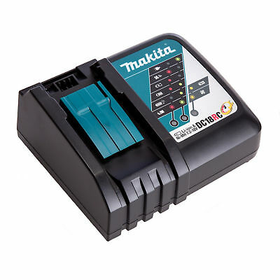 Genuine Makita 18V Cordless Battery Fast Charger - Dc18Rc - Au Warranty