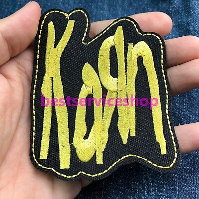 KORN KoЯn Band Logo Music Album Song Embroidered Iron-On Patch DIY tee jacket
