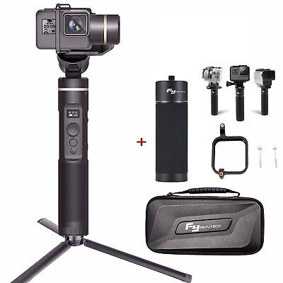Feiyu G6 3 Axis Action Camera Gimbal w/ Handle Power für Hero 6 5 4 Session RX0