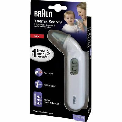 BRAUN THERMOSCAN 3 Thermomètre auriculaire IRT 3030
