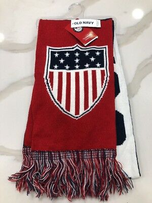 6ceb25719ac Team USA Scarf By Old Navy New Olympics 2018 Winter Sports Red White Blue  Flag