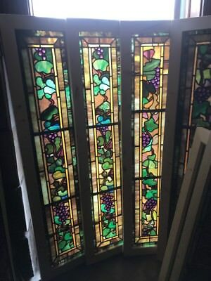 SG 2253 price each 4AV Jeweled grape grape Leaves Window 15 x 59.5