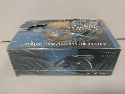 Star Trek Tng Ccg Limited Edition Black Border 36 Sealed Booster Packs Full Box!