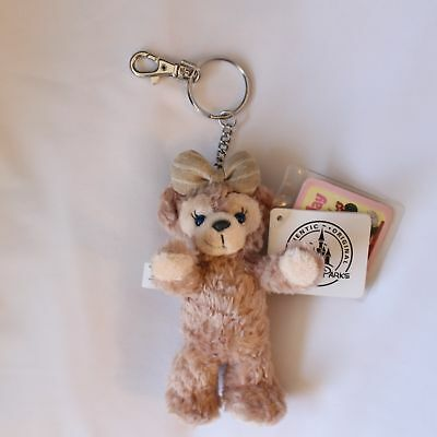 """Authentic Disney ShellieMay The Disney Bear 6"""" Plush Toy Key Chain with tag"""
