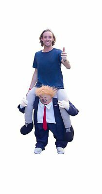 FJERR Ride-on Trump Halloween Costume - New , Free Shipping