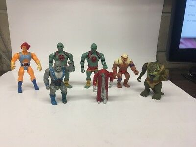 Vintage-1980's Lot of 7 Thundercats Figures