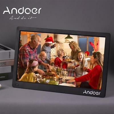 """Andoer 17"""" Ultra HD 1080P IPS Digital Photo Frame Picture Abulm Remote Control"""